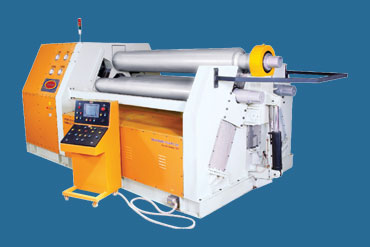 4 Roll Hydraulic Plate Bending Machine